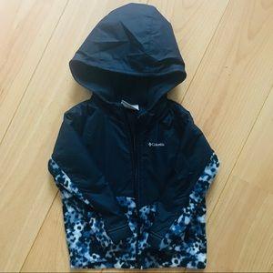 Toddler Columbia Fleece Lined Jacket w/ Hood